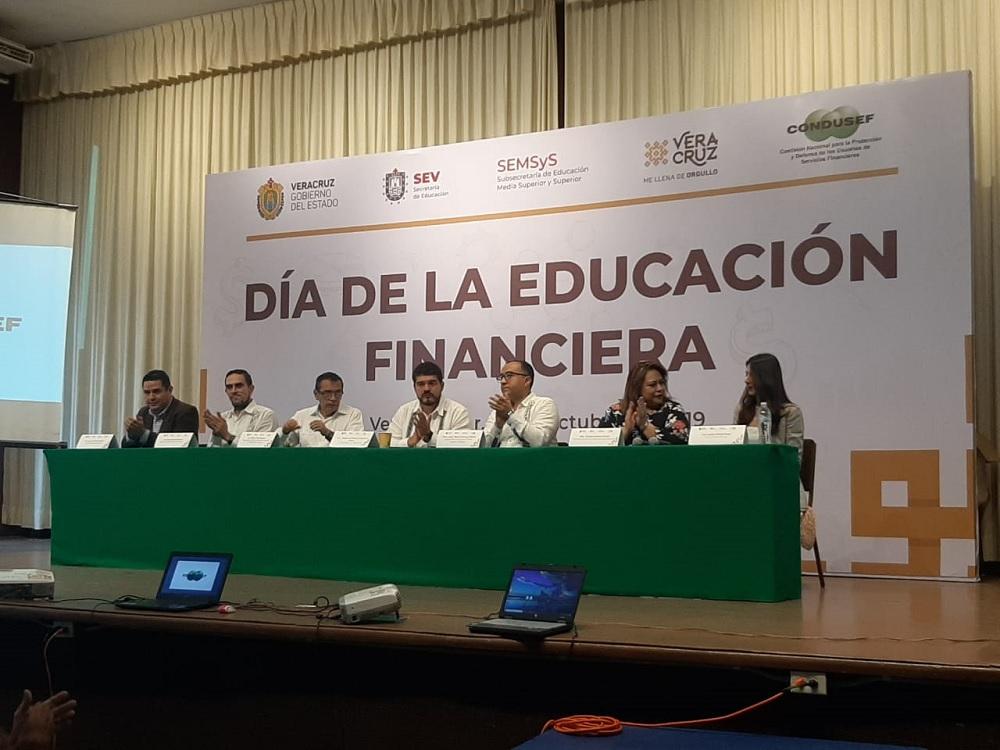 Condusef inaugura Semana Nacional de Educación Financiera 2019 en Veracruz puerto