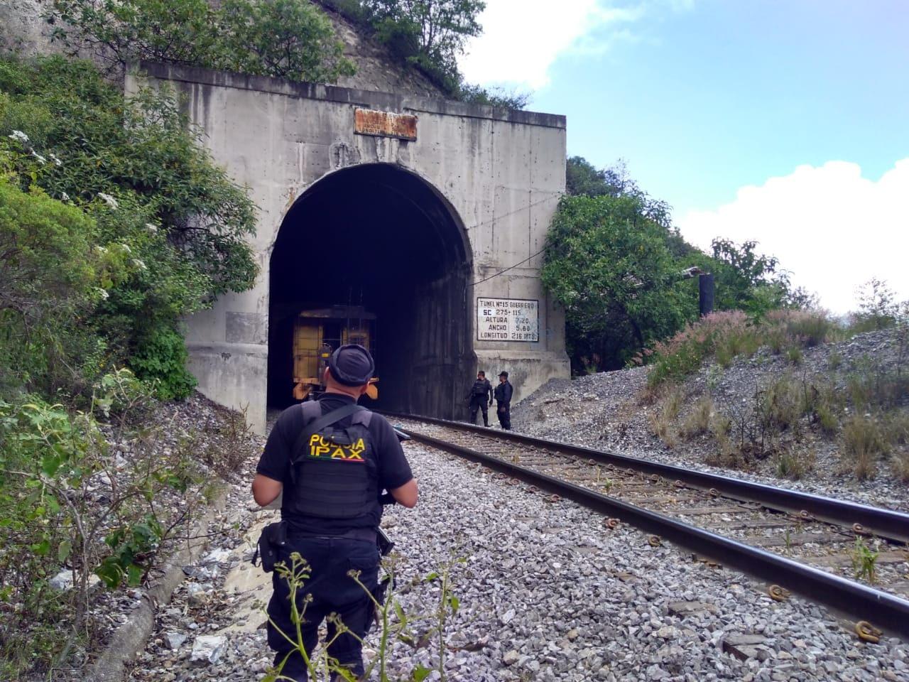 IPAX Orizaba inhibe nuevo sistema de robo al tren