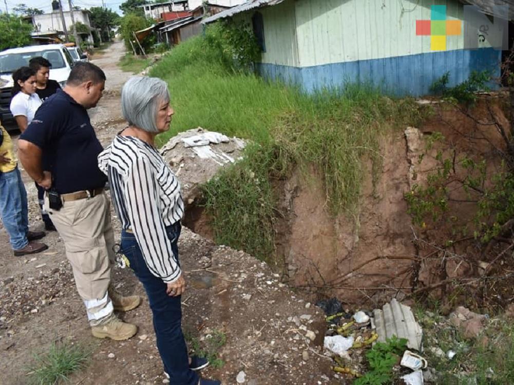 Las lluvias han comenzado a generar problemas en Tlapacoyan