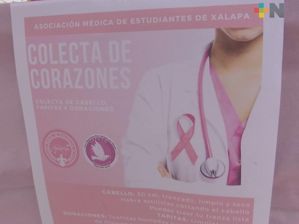 """Patronato Lepach realiza """"El trenza ton"""" en apoyo a pacientes del Cecan"""