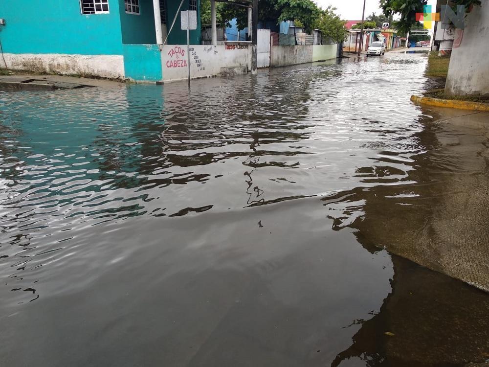 "En Coatzacoalcos, 20 colonias corren riesgo de inundarse por ingreso de Tormenta Tropical ""Cristóbal"""