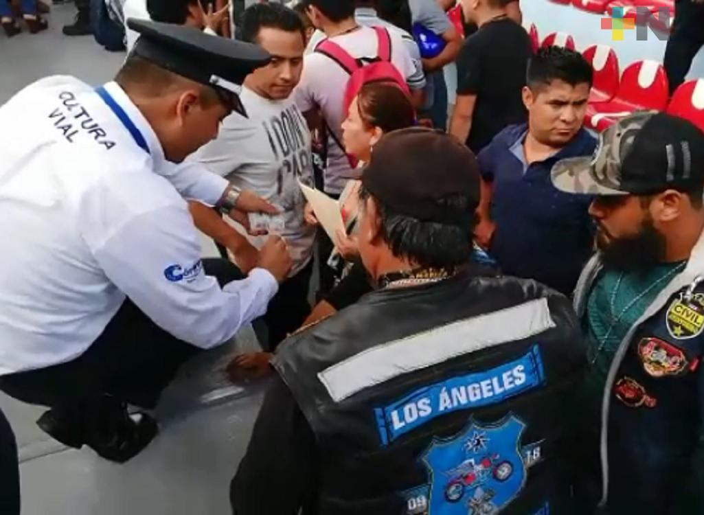 Motociclistas de Córdoba se reúnen con autoridades municipales; logran condonación en recargos y multas