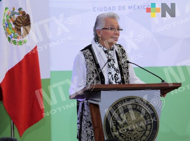 Respaldar al presidente López Obrador, convoca Sánchez Cordero