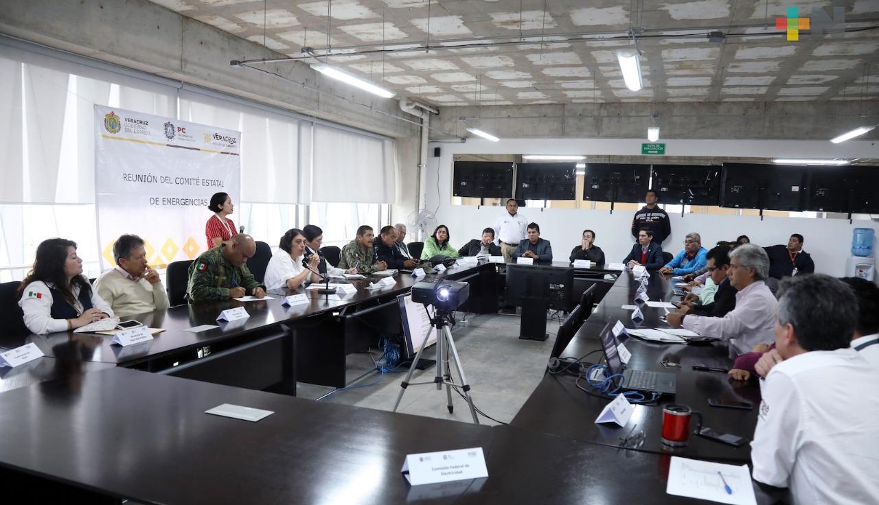 Activa PC emergencia para coordinar monitoreo y atención por lluvias