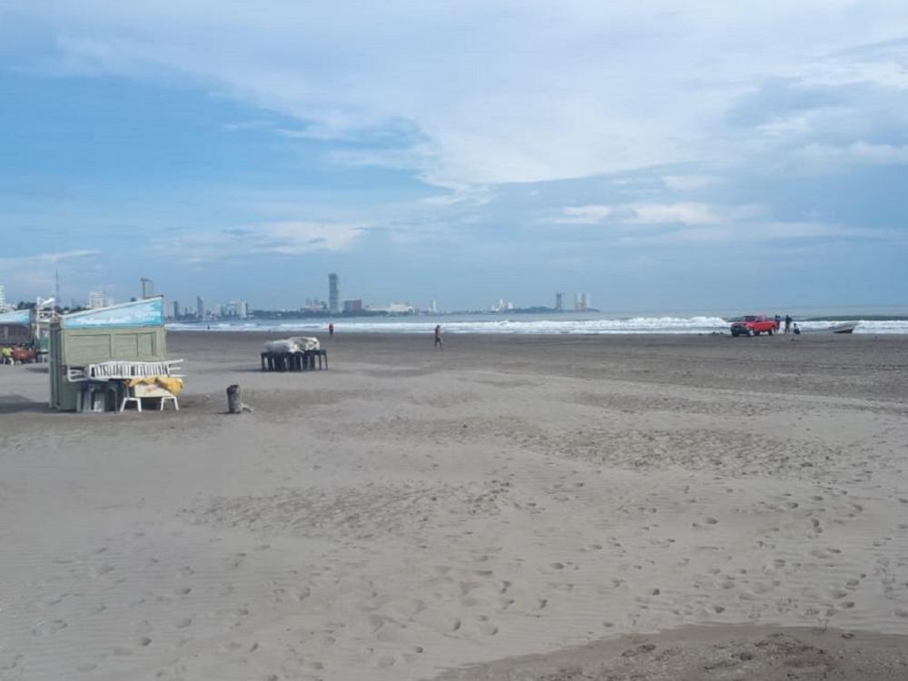 Sin reportarse daños por evento de Norte en zona Veracruz-Boca del Río