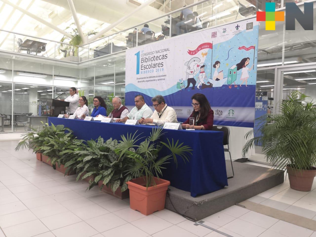 Inicia el Primer Encuentro Nacional de Bibliotecas Escolares
