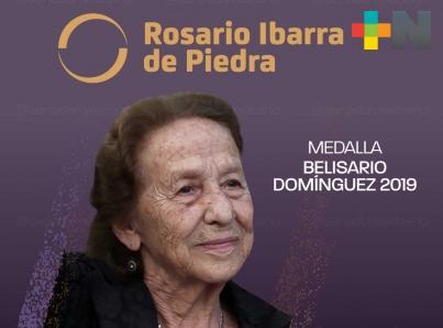 Por unanimidad, medalla Belisario Domínguez a Rosario Ibarra