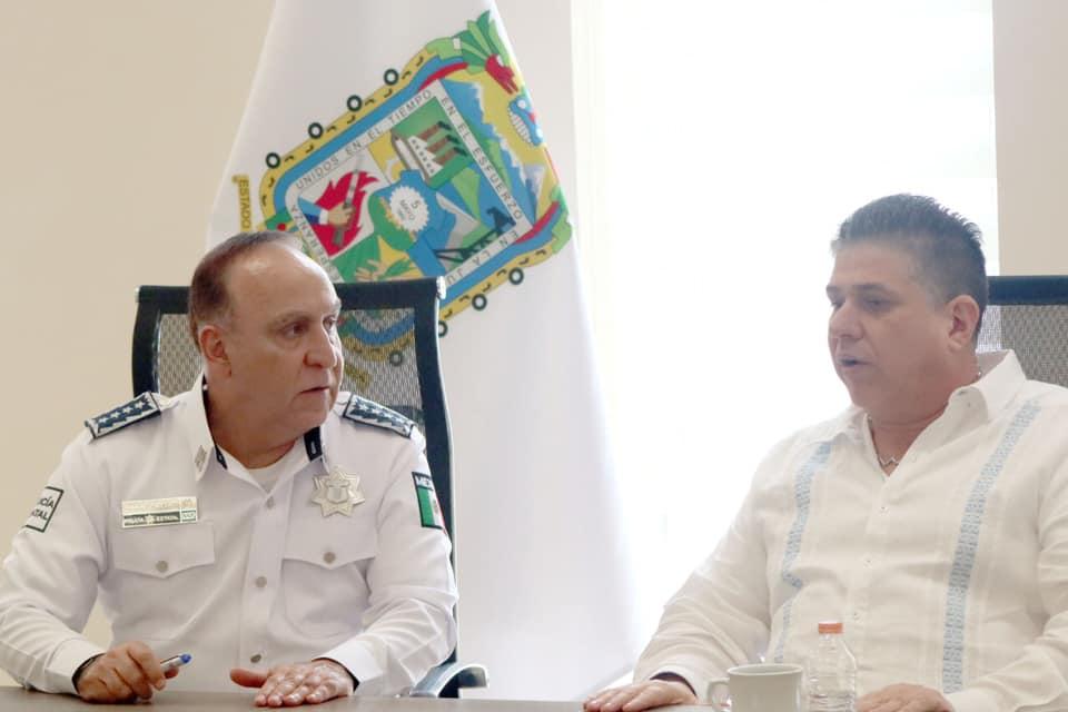 Secretarios de Seguridad Pública de Puebla y Veracruz evalúan acciones y resultados del Operativo Interestatal