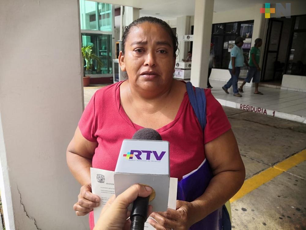 Se solicitan donadores para joven internada en Hospital Regional de Coatzacoalcos