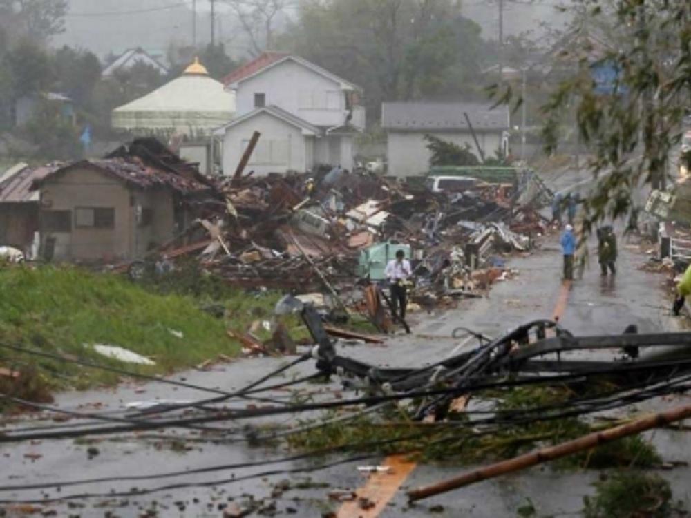 Sube a 68 cifra de muertos por paso del tifón Hagibis en Japón