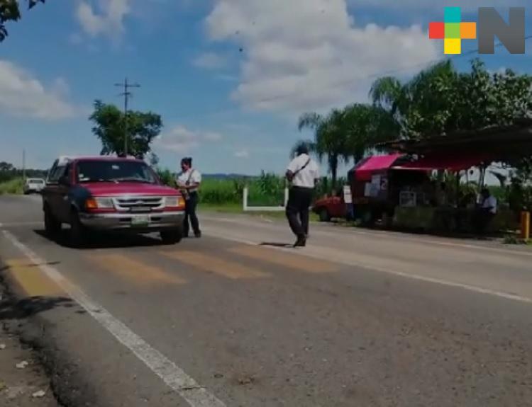 Tránsito Estatal de Yanga emprende campañas informativas para  automovilistas
