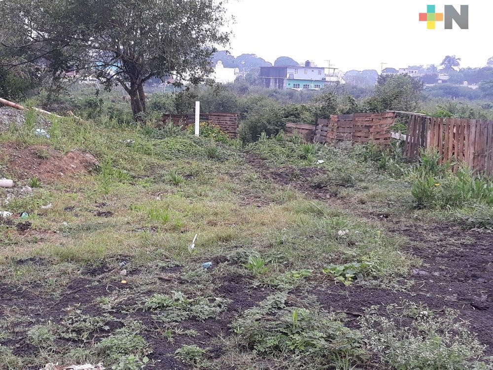 Familias de Tuxpan solicitan predios para construir viviendas; municipio trabaja en resolver esta problemática