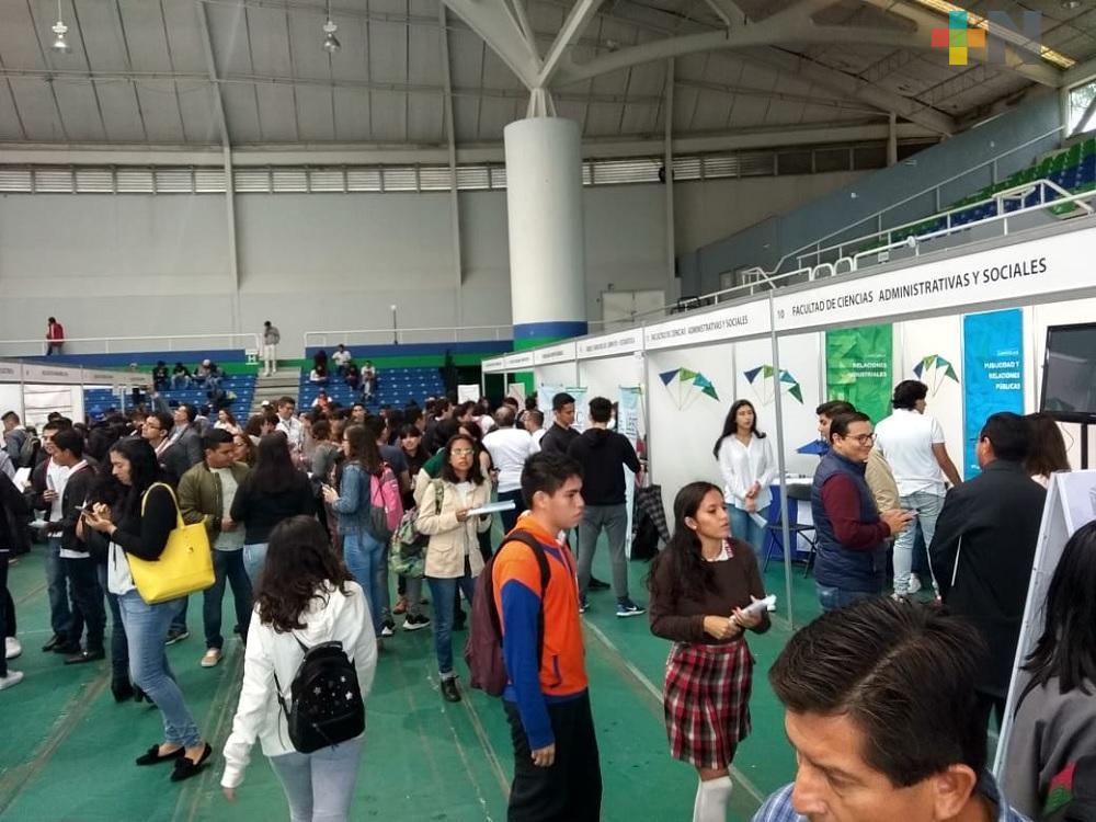 Gimnasio Universitario sede de la Expo Orienta 2019 en Xalapa