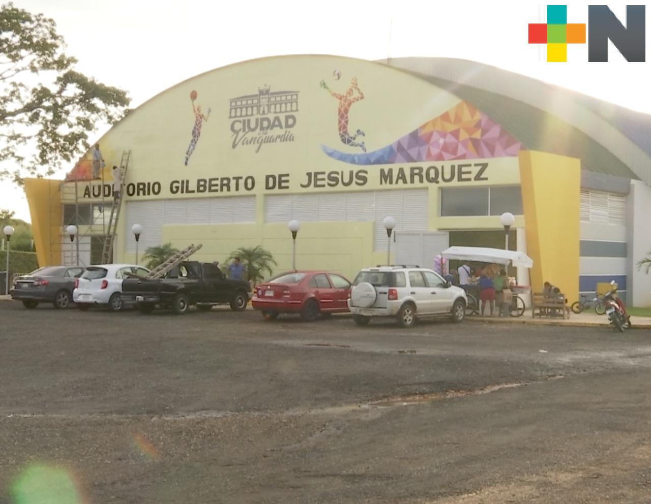 Remodelada la Unidad Deportiva «El Greco» de Acayucan