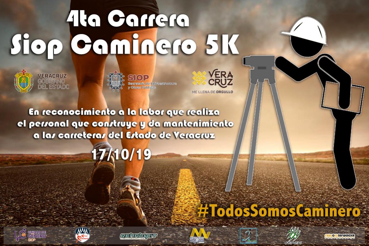 SIOP celebrará Día del Caminero con Carrera  5K