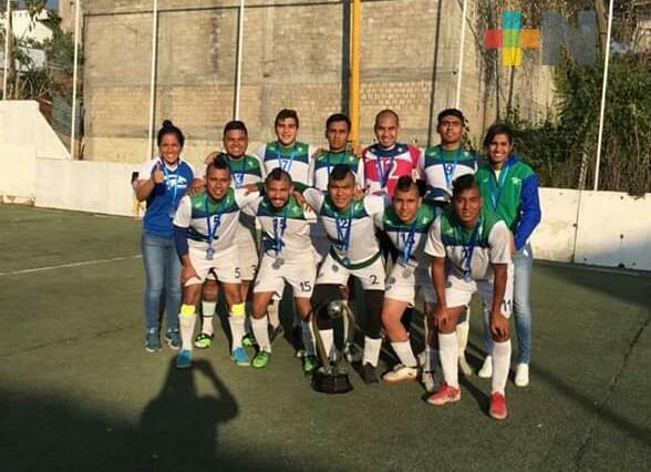Halcones UV competirá en Campeonato Nacional de futbol rápido
