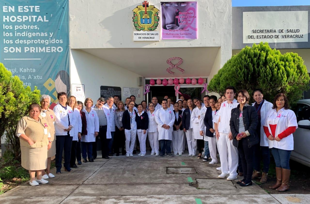 Implementa Secretaría de Salud acciones para prevenir el cáncer de mama