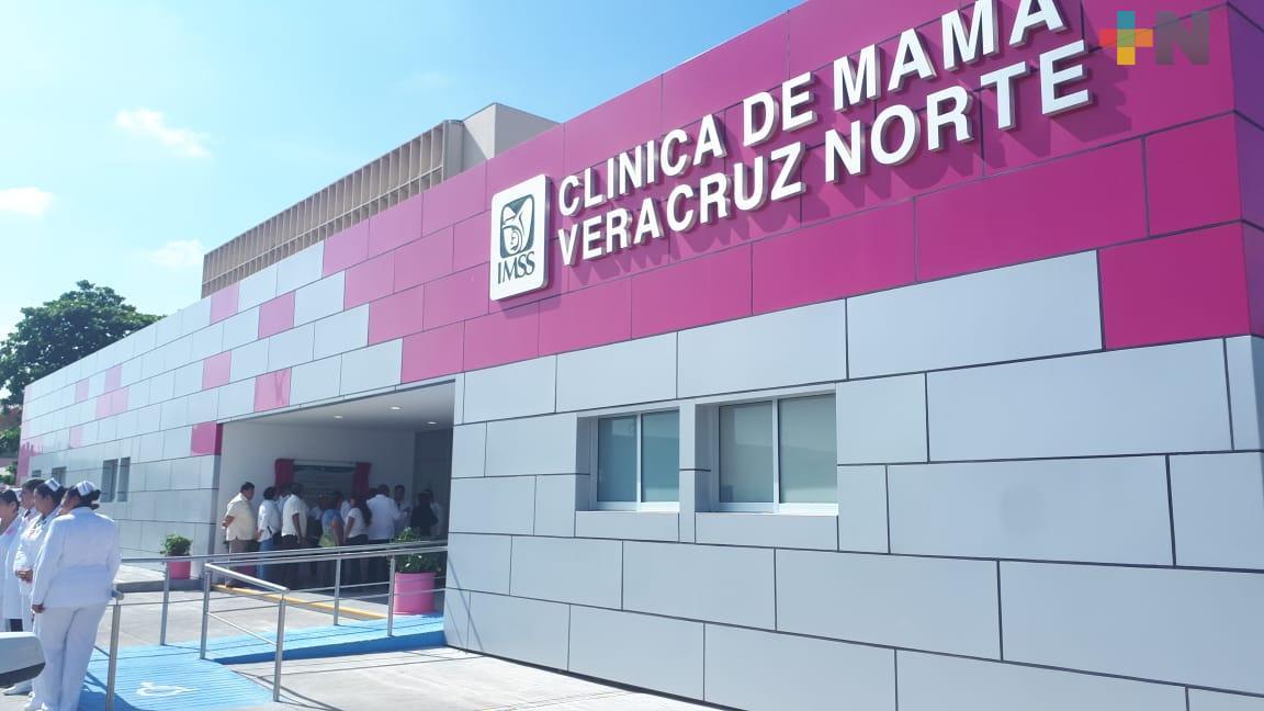 IMSS inauguró clínica de Mama en Veracruz