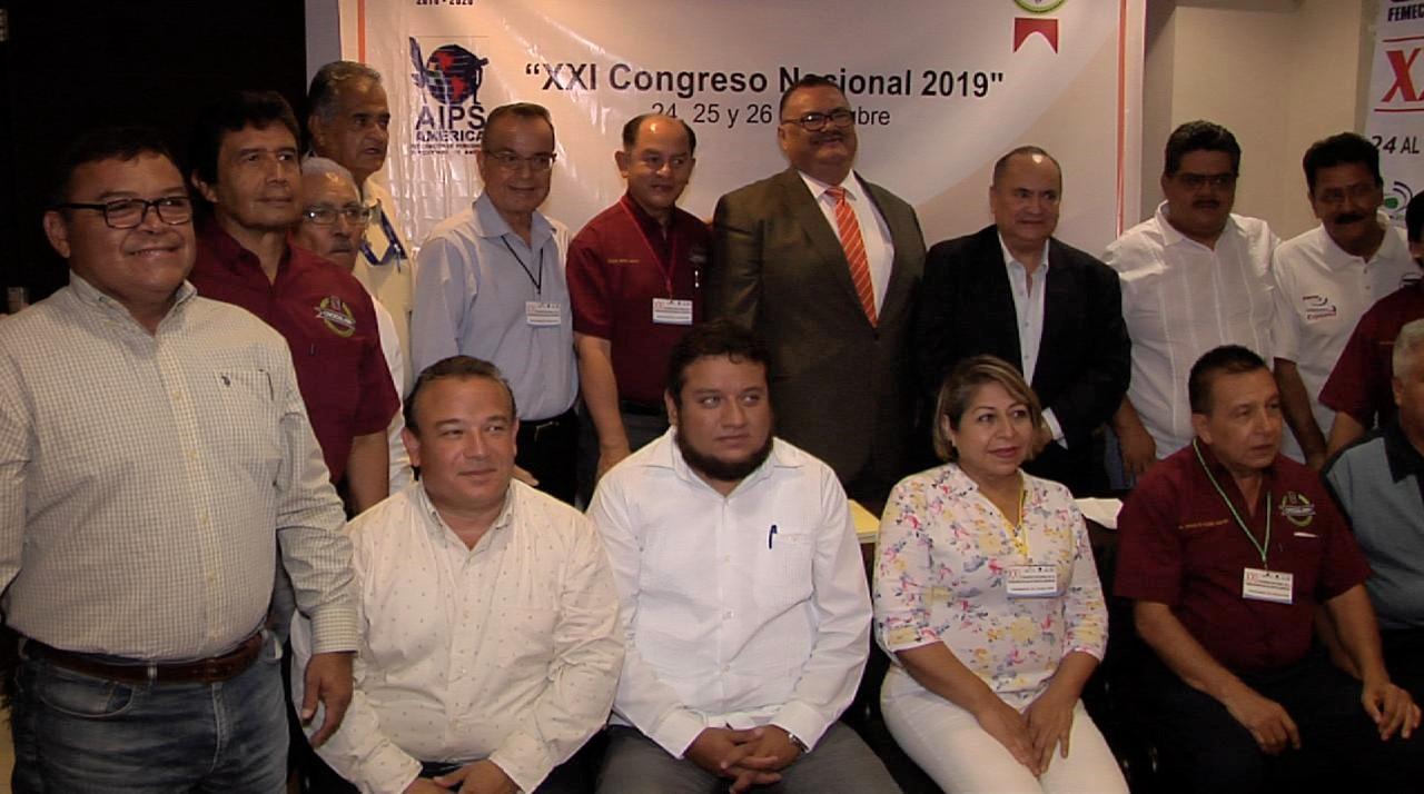 Éxito en el congreso de la Federación Mexicana de Cronistas Deportivos, en Coatzacoalcos