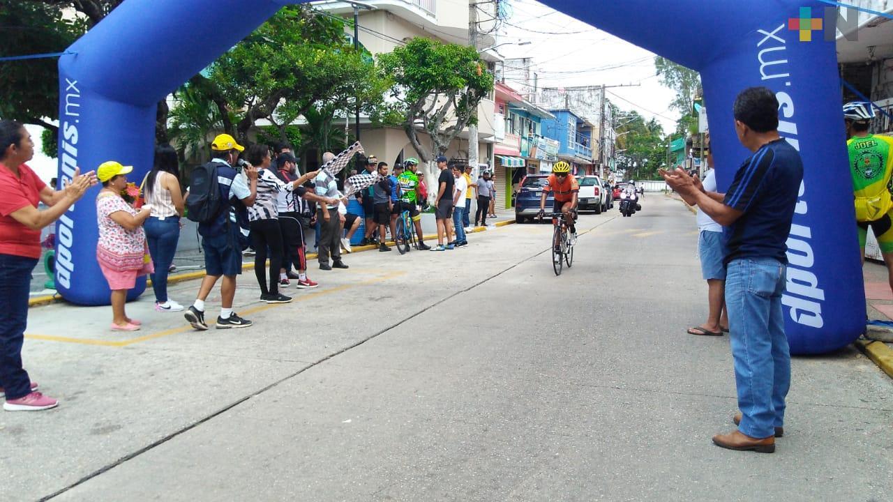 Alejandra Castillo y Fabrizzio Garduza ganaron la Gran Ruta Ciclista Olmeca