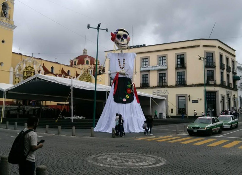 Catrina Gigante en Plaza Lerdo