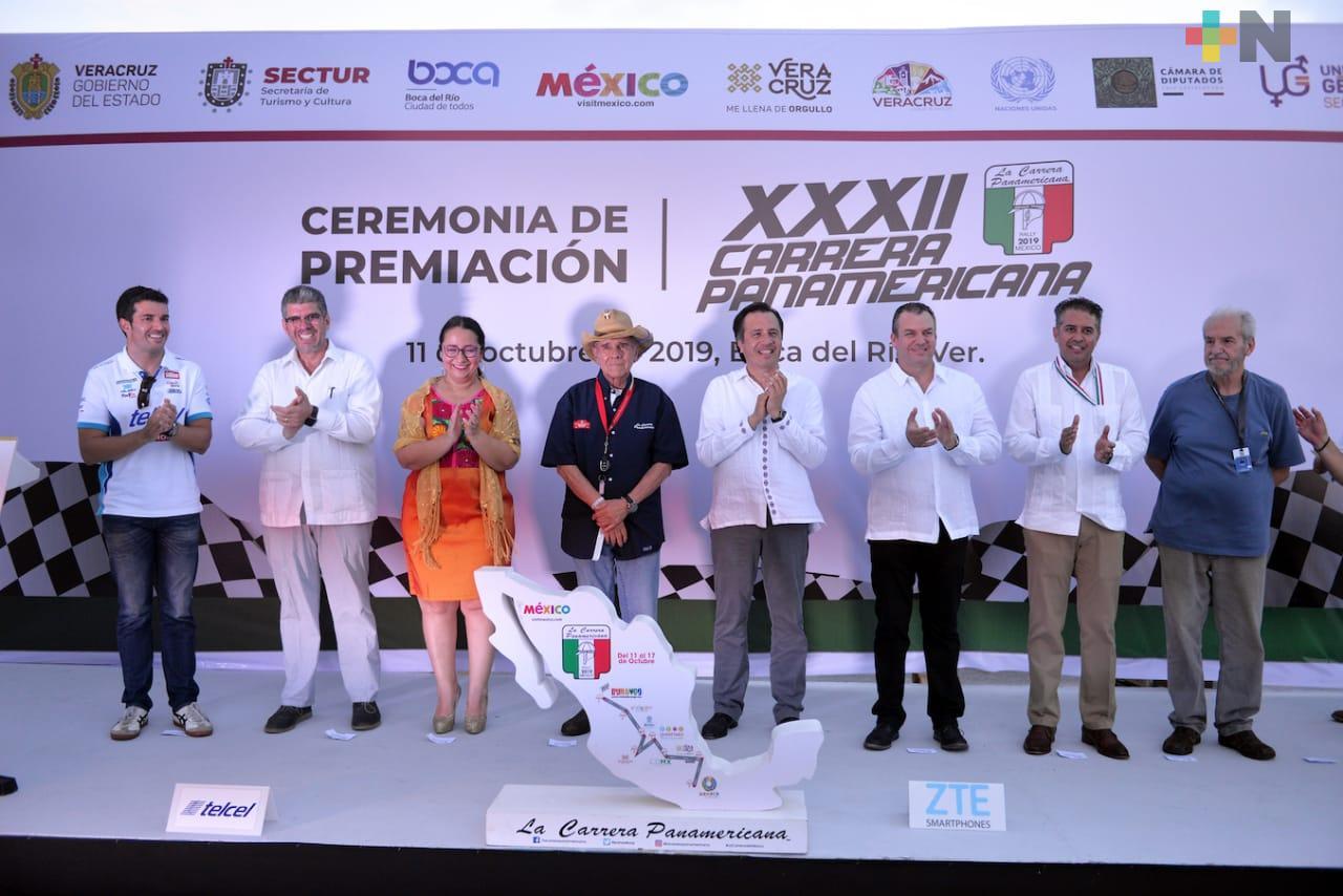 Carrera Panamericana dejará derrama económica en Veracruz