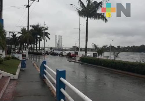 Lluvias en el norte del estado, podrían llegar a zona montañosa central de Veracruz