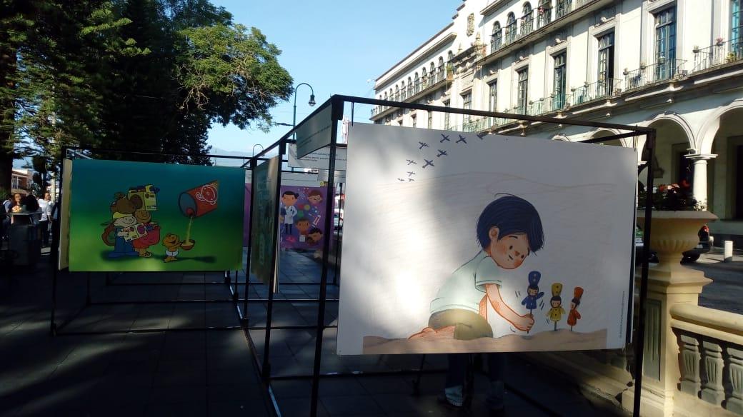 Exposición «Los niños y las niñas también tienen derecho a Tener Derechos»