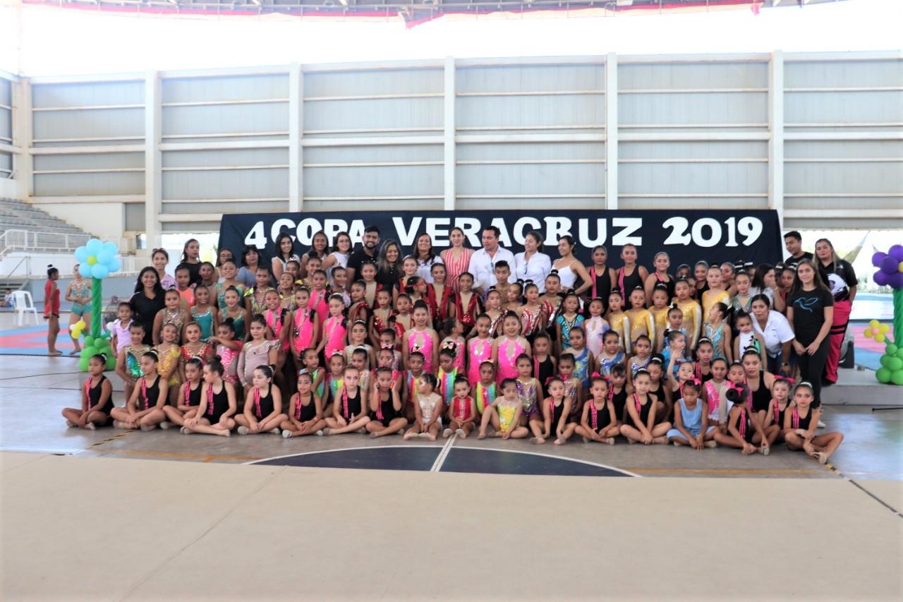 Inauguraron IVD Seminario de Poomsae y Copa de Gimnasia Rítmica
