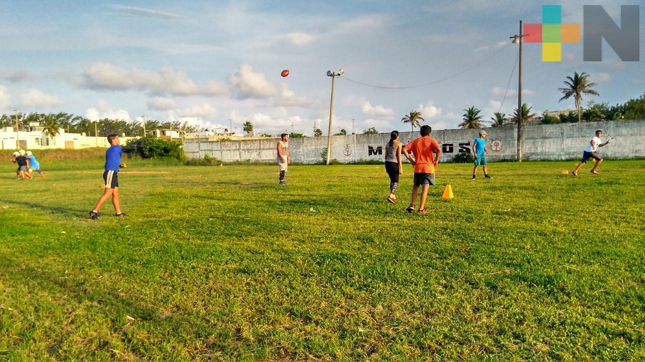 Marinos de Coatzacoalcos busca talentos infantiles y juveniles para el futbol americano