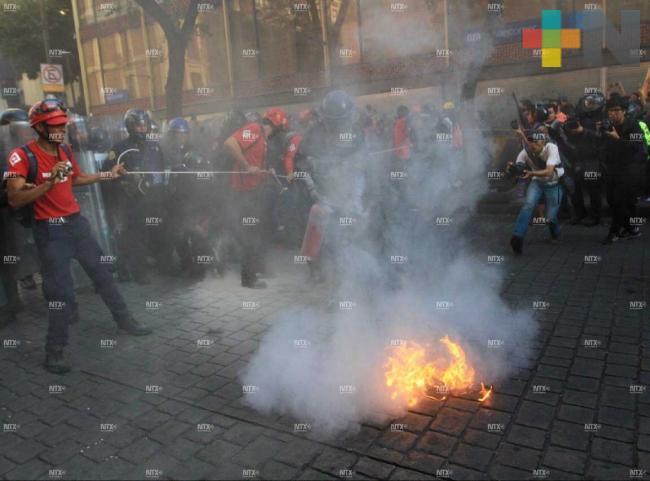 Encapuchados prenden fuego sobre Filomeno Mata