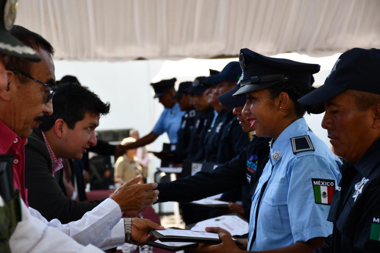 Gradúa SSP 108 Policías Municipales Preventivos