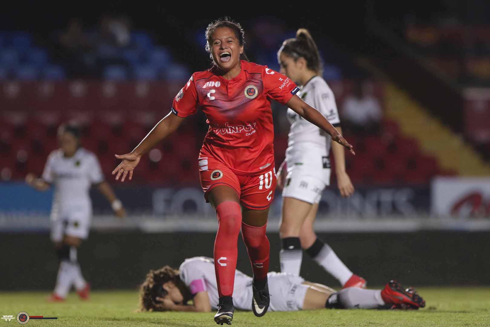 Veracruz venció a Ciudad Juárez en Liga MX Femenil