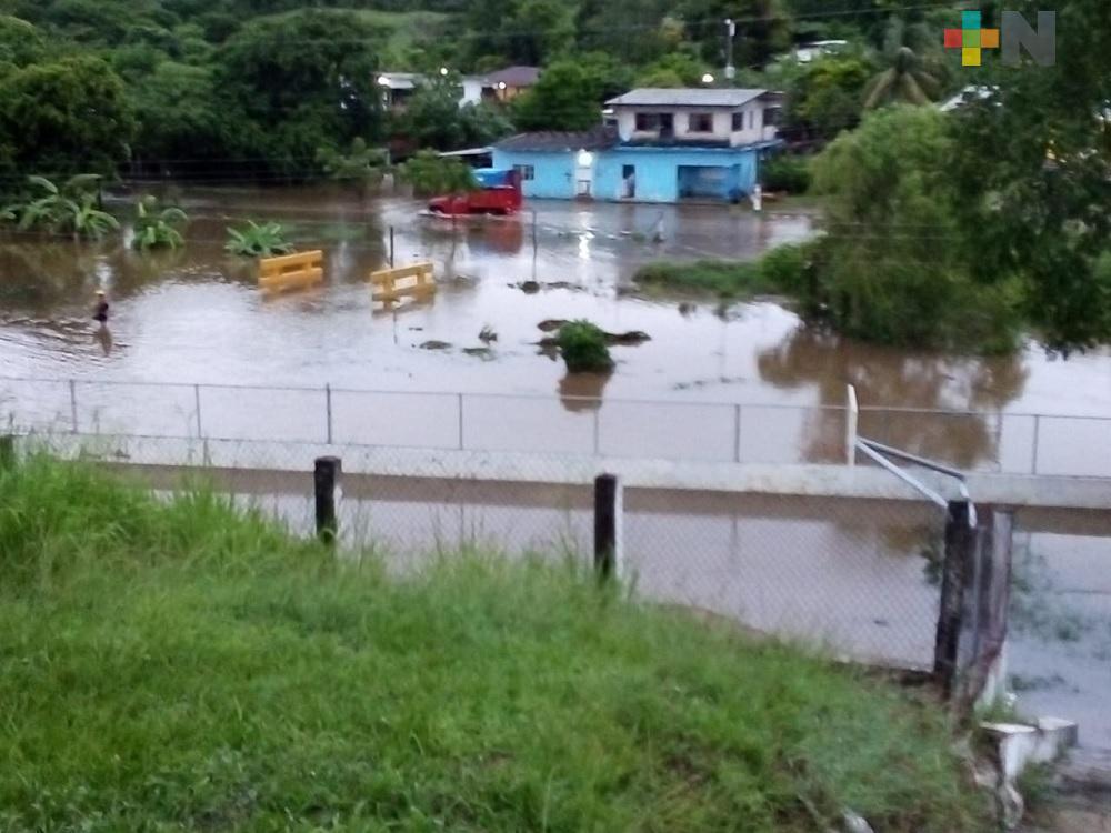 Se presentan primeros problemas por lluvias en región de Martínez de la Torre