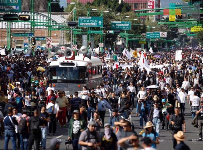 Gobierno capitalino reporta 14 lesionados tras marcha del 2 de octubre