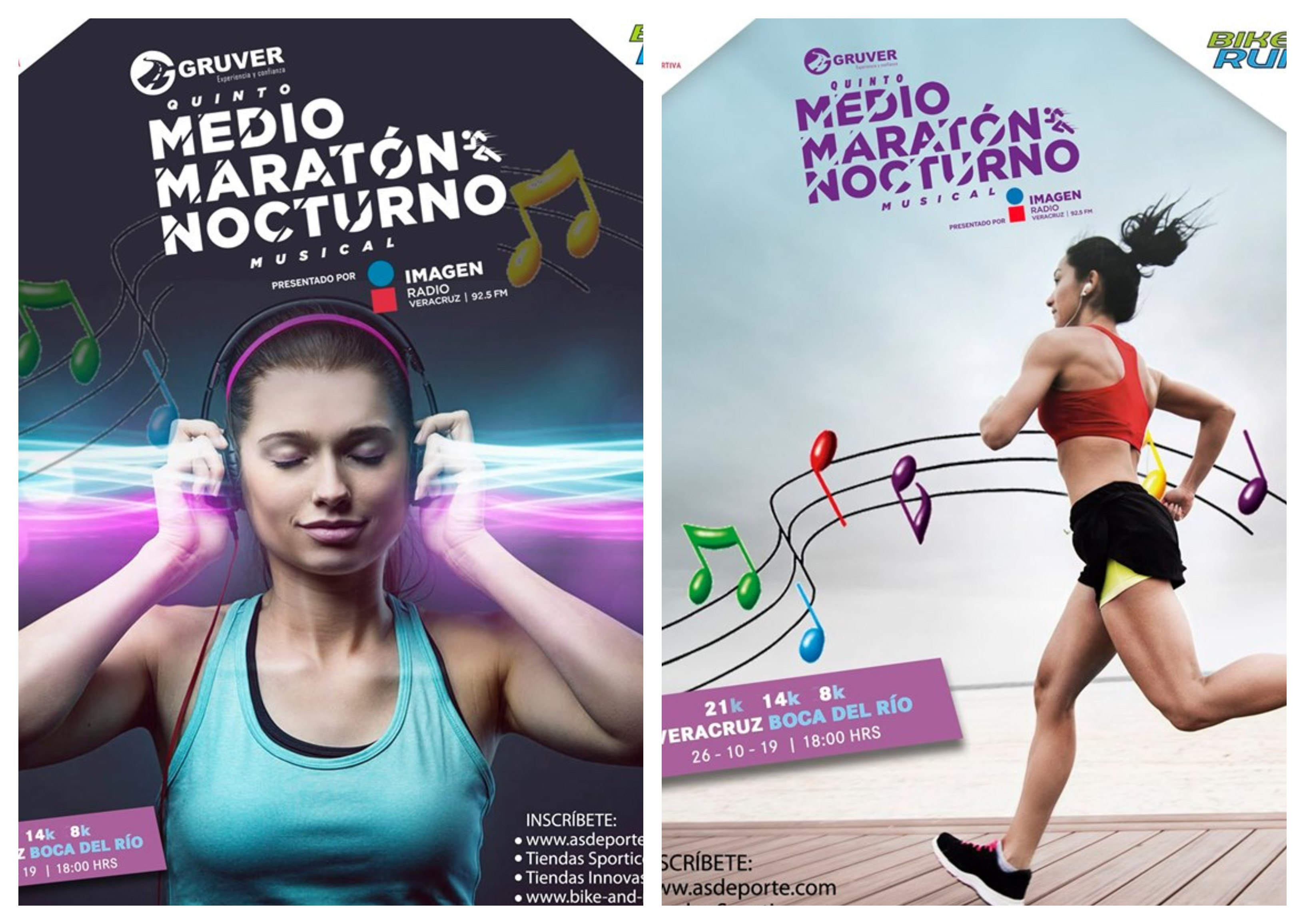 Presentan Quinto Medio Maratón Nocturno Musical Gruver