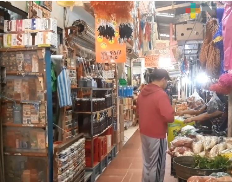 Comerciantes del mercado Héroes del 47 solicitarán mayor seguridad para temporada de Día de Muertos