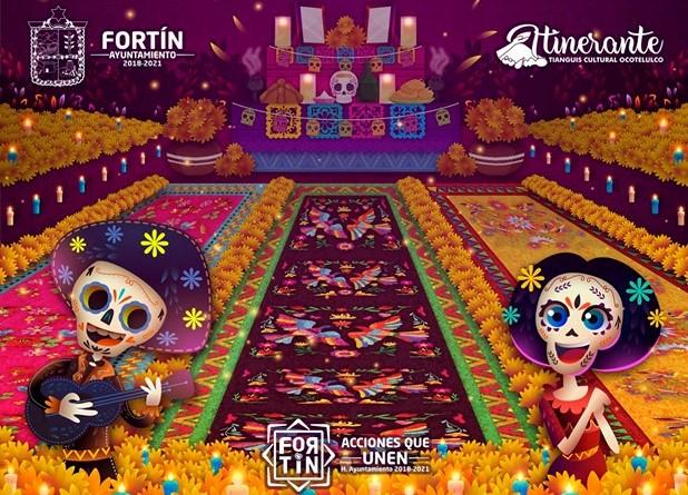 Fortín realizará Festival de Día de Muertos 2019