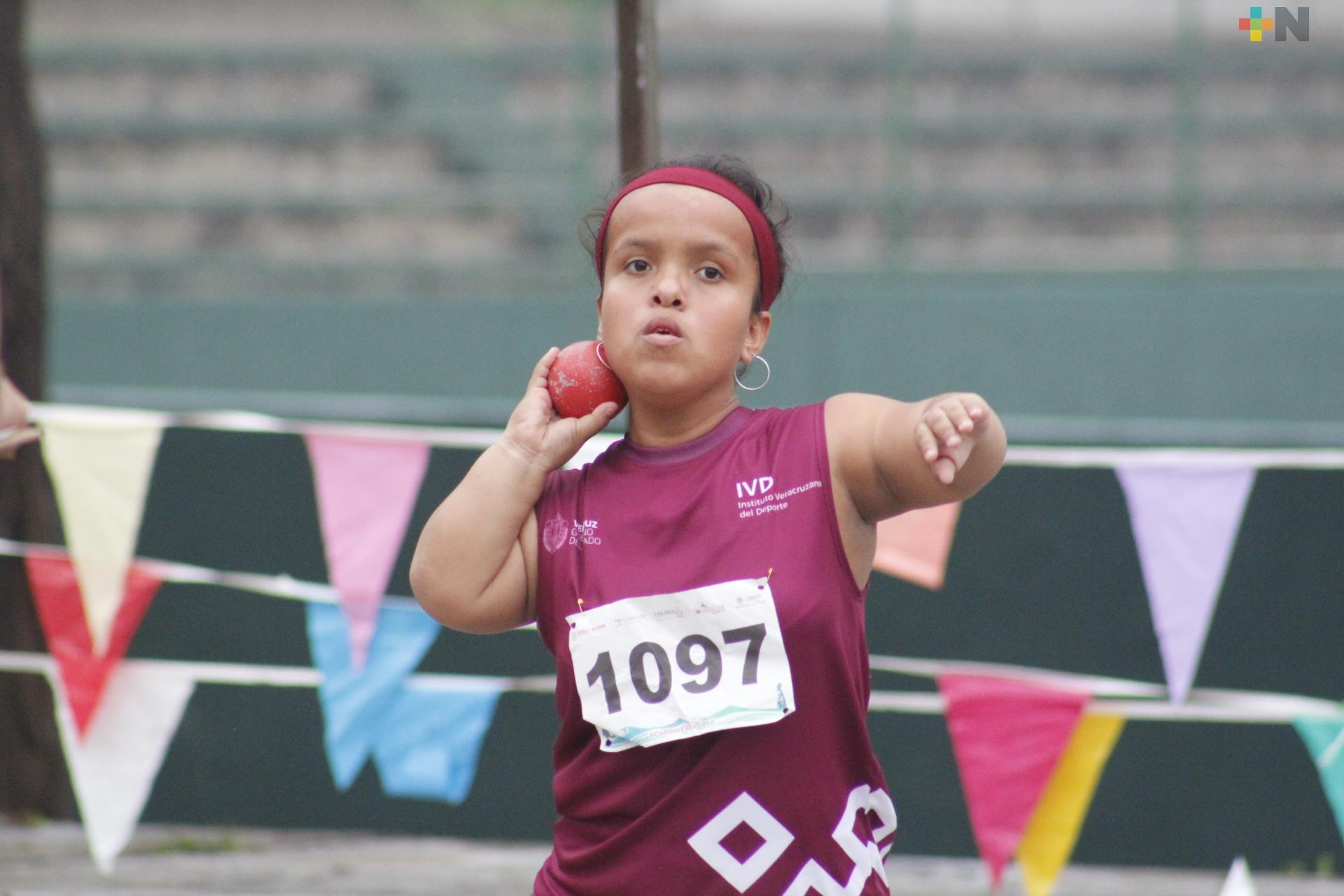 Veracruz suma 17 oros en Paraatletismo en Colima