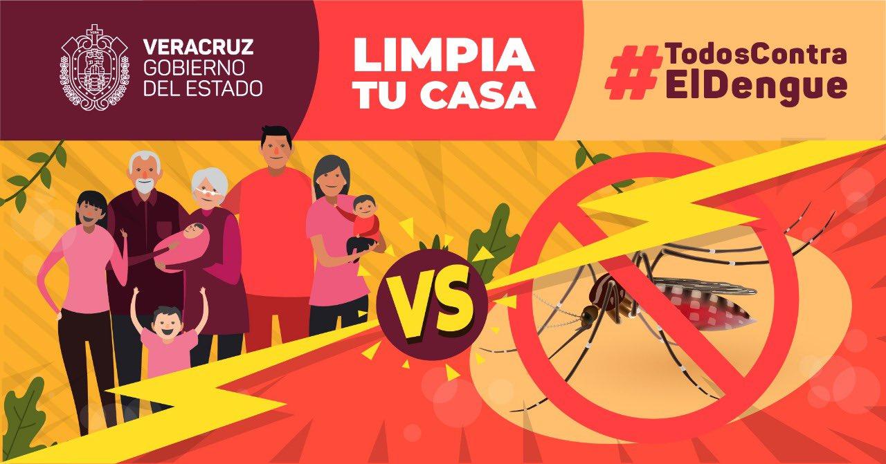 En Orizaba, SEV lanza campaña «Guardianes contra el Dengue»