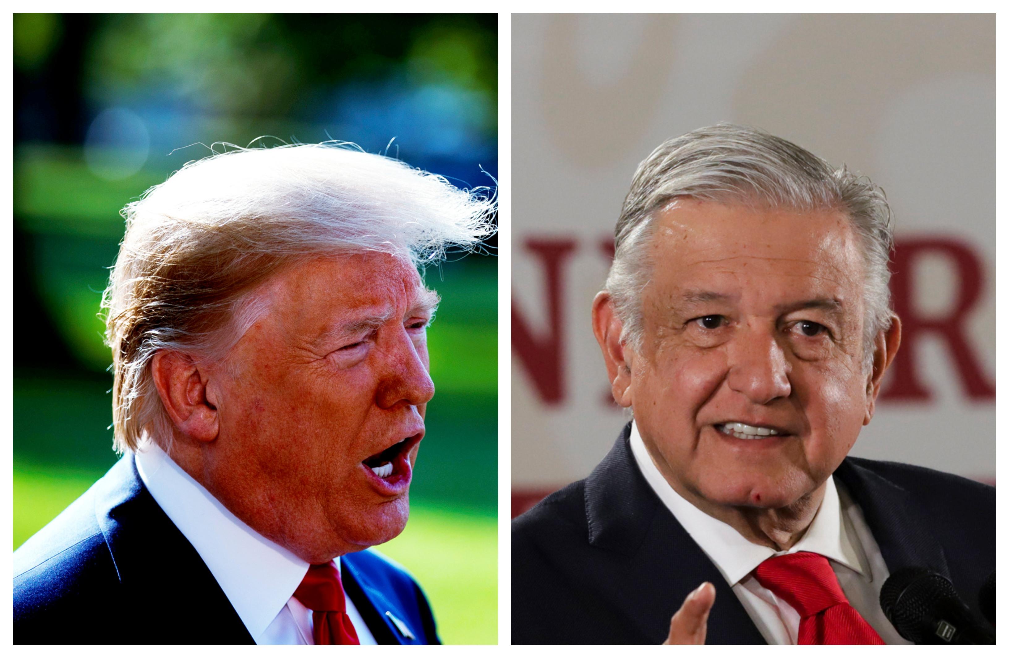 Trump expresa solidaridad a López Obrador por caso Culiacán