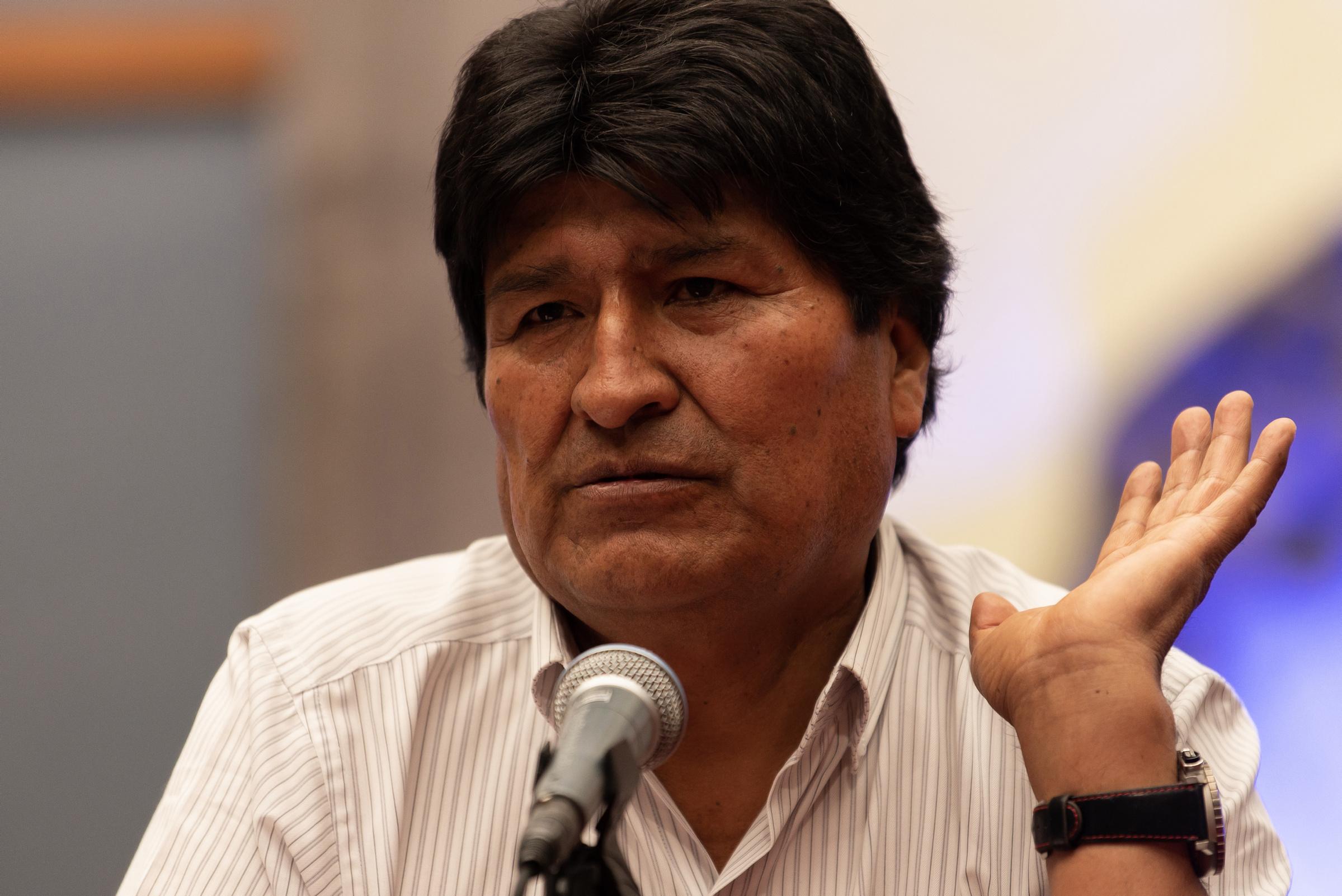 Convoca Evo Morales al diálogo nacional para pacificar Bolivia
