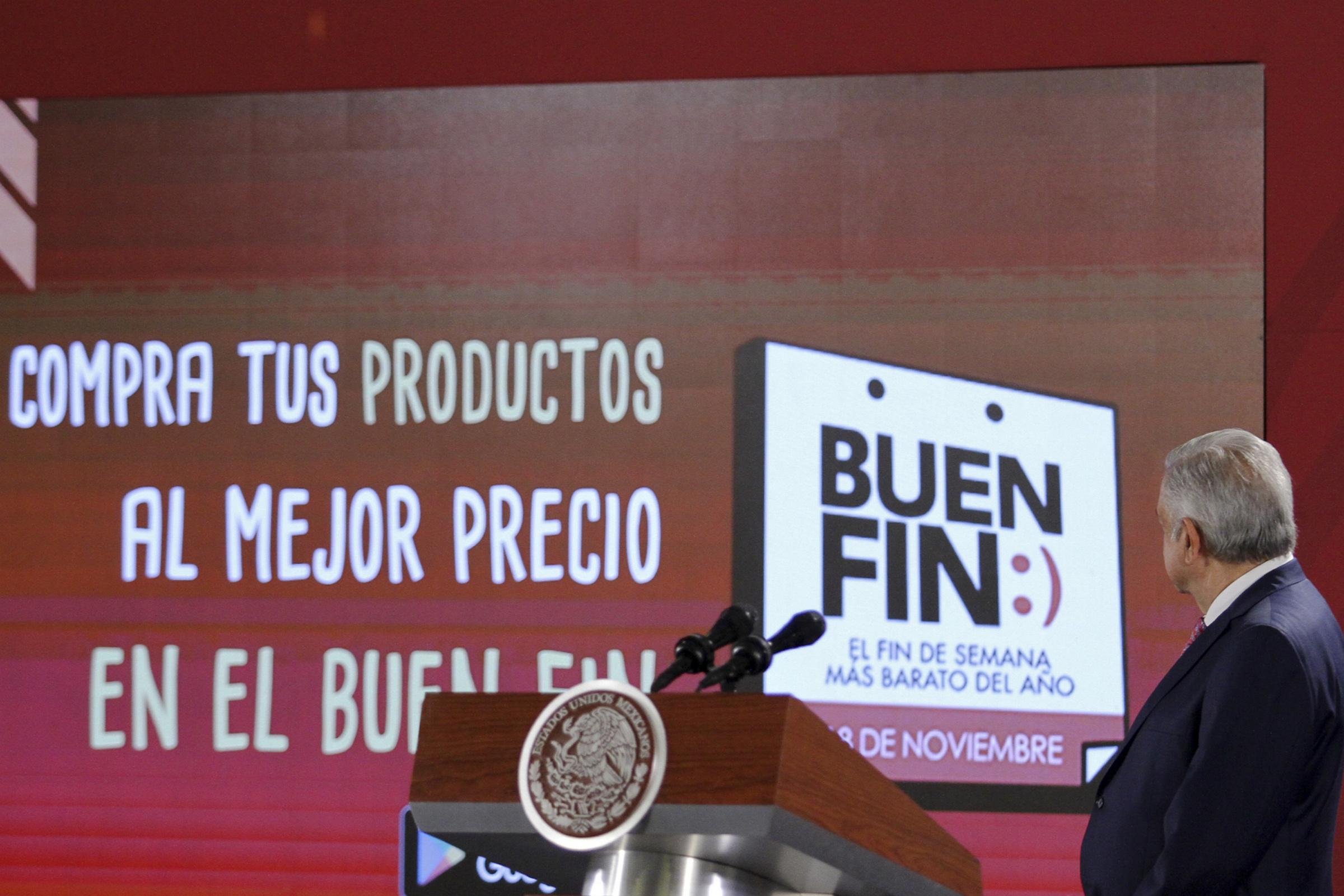 Con Buen Fin mejorará la capacidad de compra de las familias: AMLO