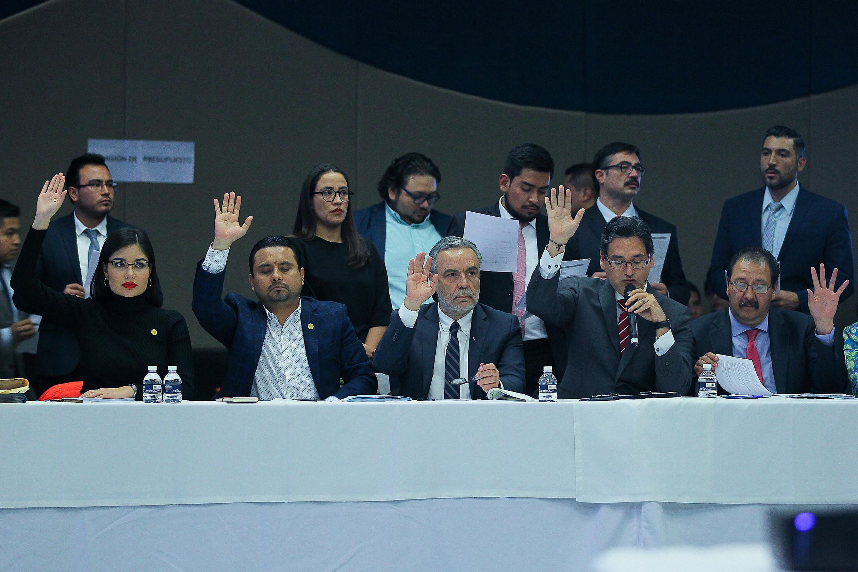 Comisión de diputados aprueba dictamen de Presupuesto 2020