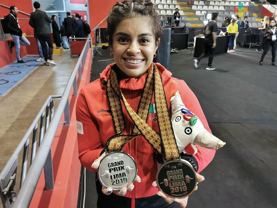 Dos medallas para Ana Ferrer en Grand Prix en Perú