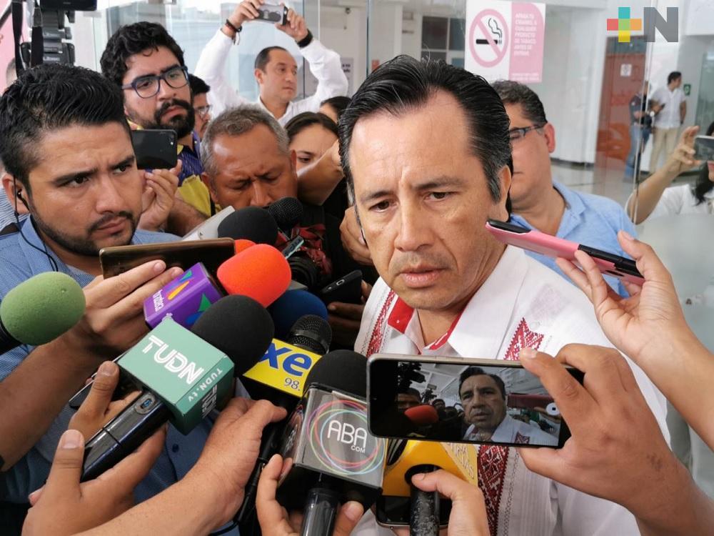 Detención de exdiputado, claro mensaje de que hoy en día no cabe la impunidad: Cuitláhuac García