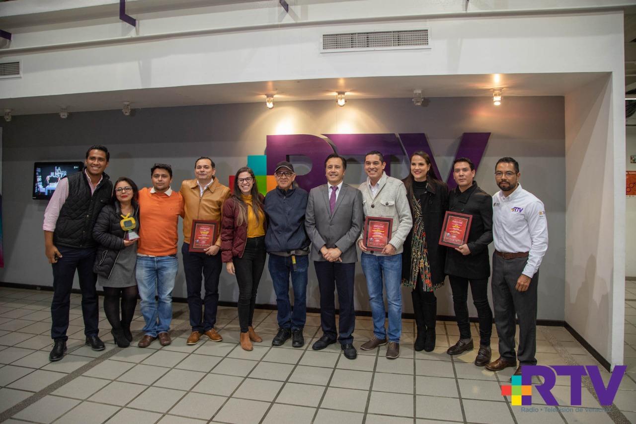 Reconoce el gobernador Cuitláhuac García al talento de Radiotelevisión de Veracruz