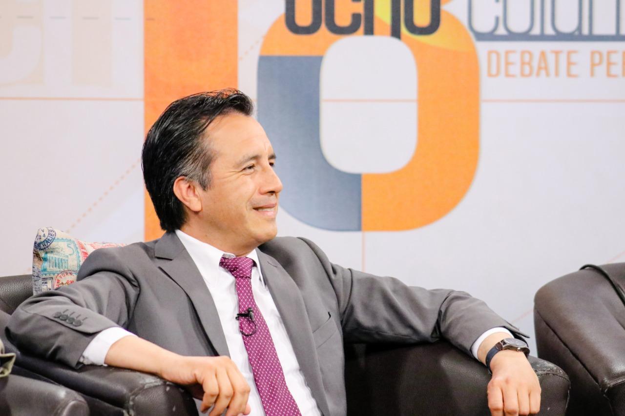 FGE logró importantes detenciones tras la salida de Winckler: Gobernador Cuitláhuac García