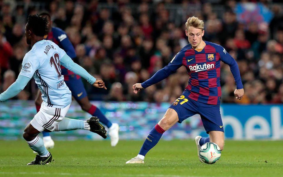 Jugar en el Barcelona siempre fue el sueño de Frenkie de Jong