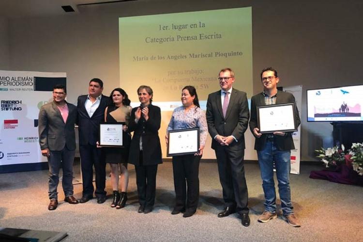 Egresada de la Facico gana Premio Alemán de Periodismo Walter Reuter